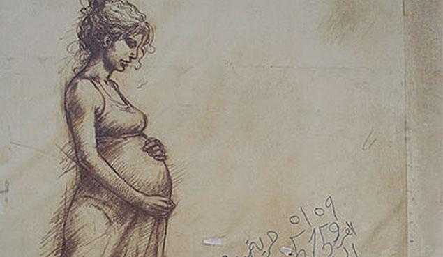 PregnantWomanGraffiti